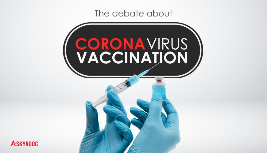 Debate about covid-19 vaccination